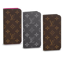 Louis Vuitton MONOGRAM Monoglam Leather Smart Phone Cases