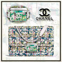 CHANEL Lambskin 2WAY Chain Elegant Style Handbags
