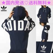 adidas Casual Style Long Sleeves Cotton Medium