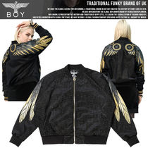 BOY LONDON Studded Medium MA-1 Bomber Jackets
