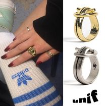 UNIF Clothing Costume Jewelry Casual Style Unisex Street Style Rings