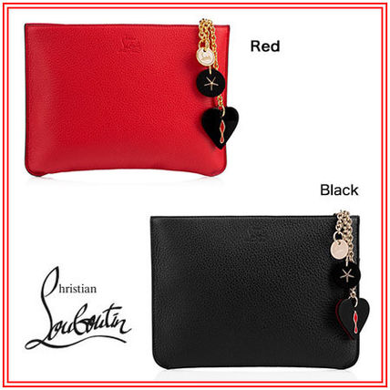 caff11b60b355 ... Christian Louboutin Pouches   Cosmetic Bags Plain Pouches   Cosmetic ...
