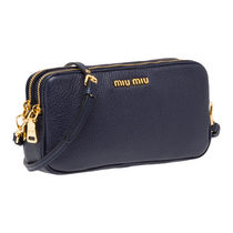 MiuMiu MADRAS Pouches & Cosmetic Bags
