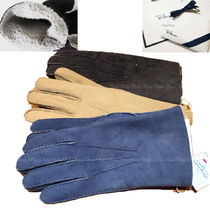 Ron Herman Collaboration Plain Leather Leather & Faux Leather Gloves