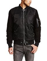 DIESEL Leather MA-1 Bomber Jackets