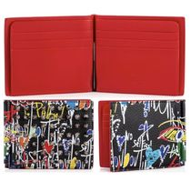 Christian Louboutin Leather Folding Wallets