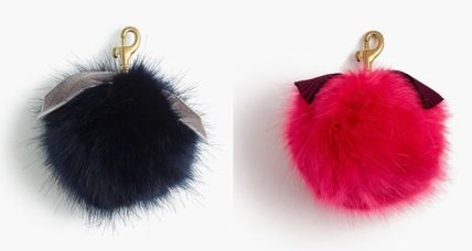 Faux Fur Card Holders