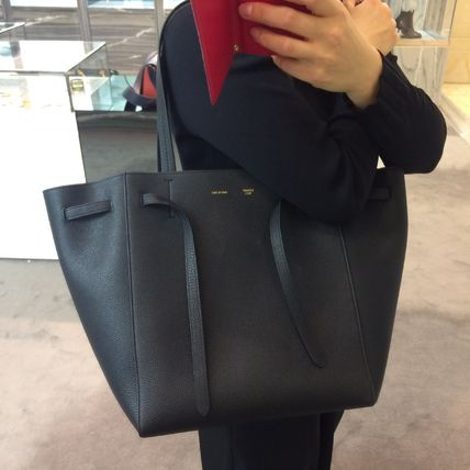 036955d4df8 CELINE Cabas Phantom 2018-19AW A4 Plain Leather Totes by TheEastSide ...