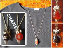 CHANEL Costume Jewelry Casual Style Necklaces & Pendants