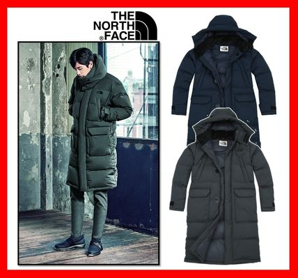 1ae7c2ed77c6 ... THE NORTH FACE Down Jackets Unisex Street Style Long Down Jackets ...