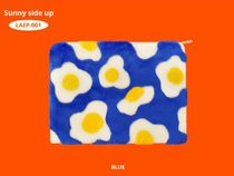 wiggle wiggle Flower Patterns Casual Style Faux Fur A4 Clutches