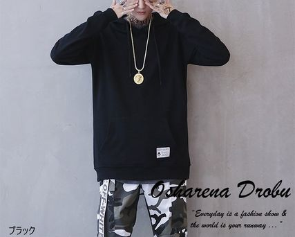 Sweatshirts Pullovers Long Sleeves Plain Other Animal Patterns Oversized 2