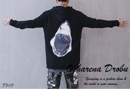 Sweatshirts Pullovers Long Sleeves Plain Other Animal Patterns Oversized 6