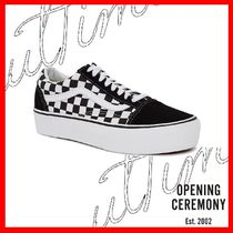OPENING CEREMONY Other Check Patterns Unisex Sneakers