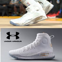 UNDER ARMOUR CURRY Faux Fur Street Style Plain Sneakers