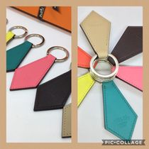 HERMES Bearn Leather Keychains & Holders