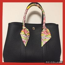 HERMES Garden Party A4 Leather Office Style Bags