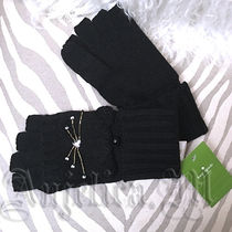 kate spade new york Casual Style Wool Plain Gloves Gloves