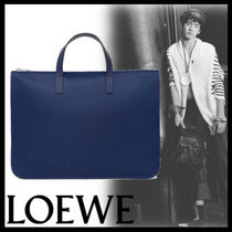 LOEWE Plain Leather Business & Briefcases