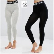 Calvin Klein Street Style Plain Cotton Leggings Pants