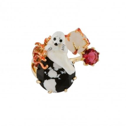 Animal With Jewels Rings