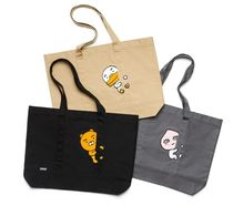 KAKAO FRIENDS Casual Style Unisex Cambus A4 Shoppers
