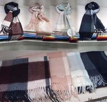 Chloe Other Check Patterns Cashmere Heavy Scarves & Shawls