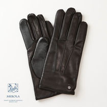 Merola Plain Leather Leather & Faux Leather Gloves