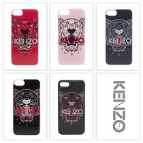 KENZO Unisex Street Style Smart Phone Cases