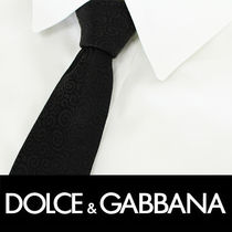 Dolce & Gabbana Plain Cotton Ties