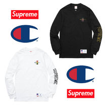 Supreme Unisex Collaboration Long Sleeves Cotton