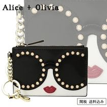 Alice+Olivia Plain Leather Keychains & Bag Charms