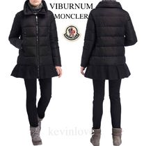 MONCLER VIBURNUM Plain Medium Elegant Style Down Jackets