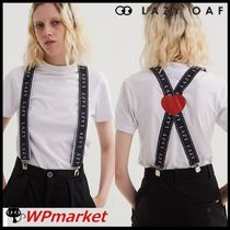 LAZY OAF Casual Style Suspenders Belts