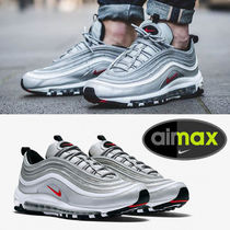 Nike AIR MAX 97 Plain Toe Street Style Sneakers