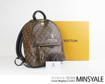 Louis Vuitton PALM SPRINGS BACKPACK MM [London department store new item]