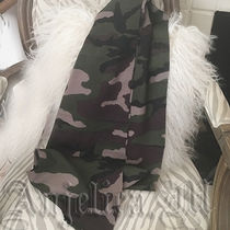 Coach Camouflage Wool Scarves