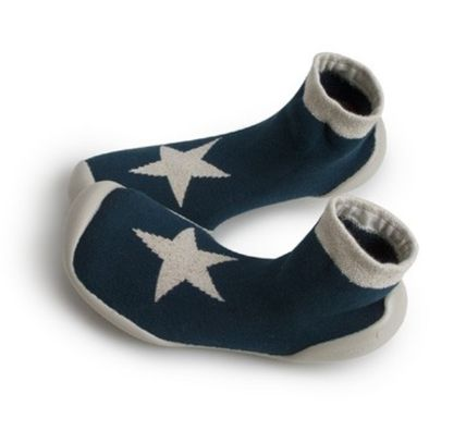 Star Round Toe Slippers Flats