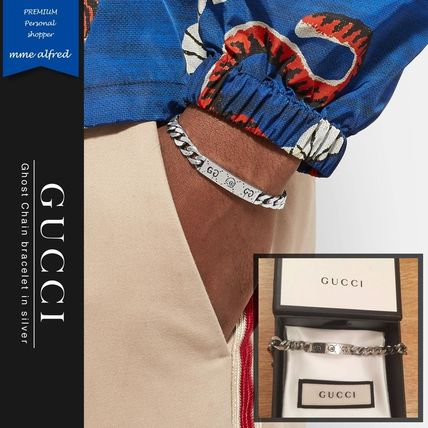 bbeccdfb8 GUCCI Gucci Ghost Bangles Unisex Street Style Silver Bracelets by ...