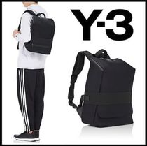 Y-3 QASA Unisex A4 2WAY Plain Backpacks