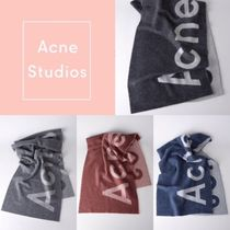 Acne Casual Style Unisex Wool Heavy Scarves & Shawls