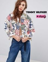 Tommy Hilfiger Short Casual Style Denim Street Style Jackets