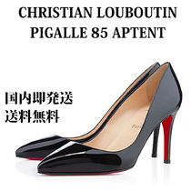 Christian Louboutin Enamel Plain Pin Heels Stiletto Pumps & Mules