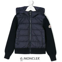 MONCLER Blended Fabrics Kids Girl Outerwear
