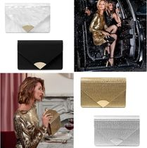 Michael Kors 2WAY Chain Plain Party Style Clutches