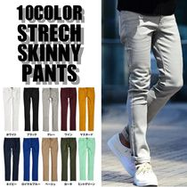 Plain Skinny Fit Pants
