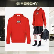 GIVENCHY Long Sleeves Cotton Hoodies
