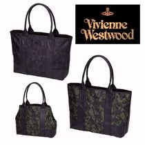Vivienne Westwood Camouflage PVC Clothing Totes