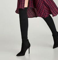 ZARA Pin Heels Over-the-Knee Boots