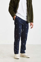 NAUTICA Printed Pants Monogram Street Style Cotton Patterned Pants